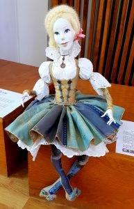 Papusi multietnice Elsa etnic german