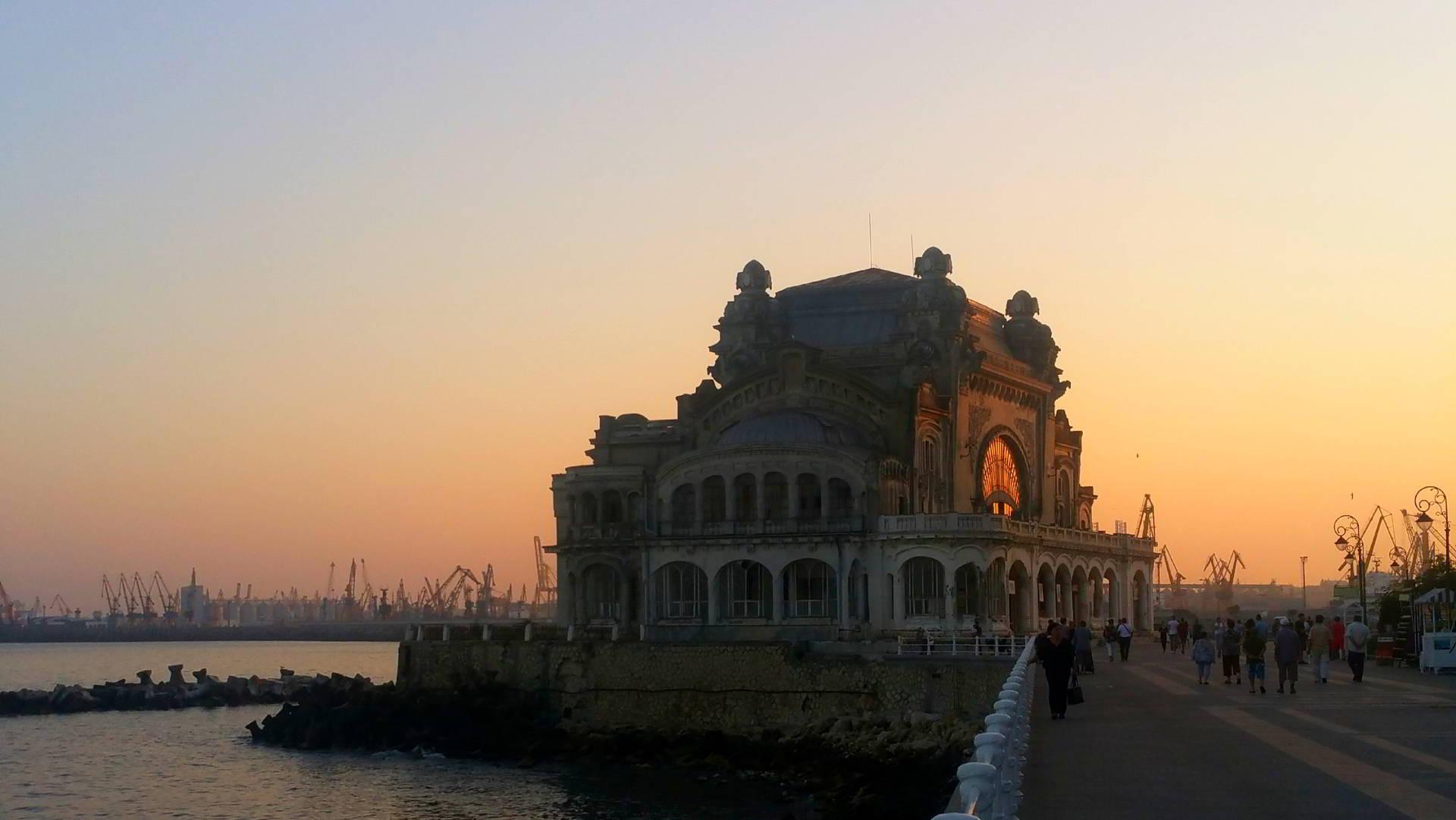 Cazinoul vazut in alta lumina, un spectacol de lumini si sunet in Constanta
