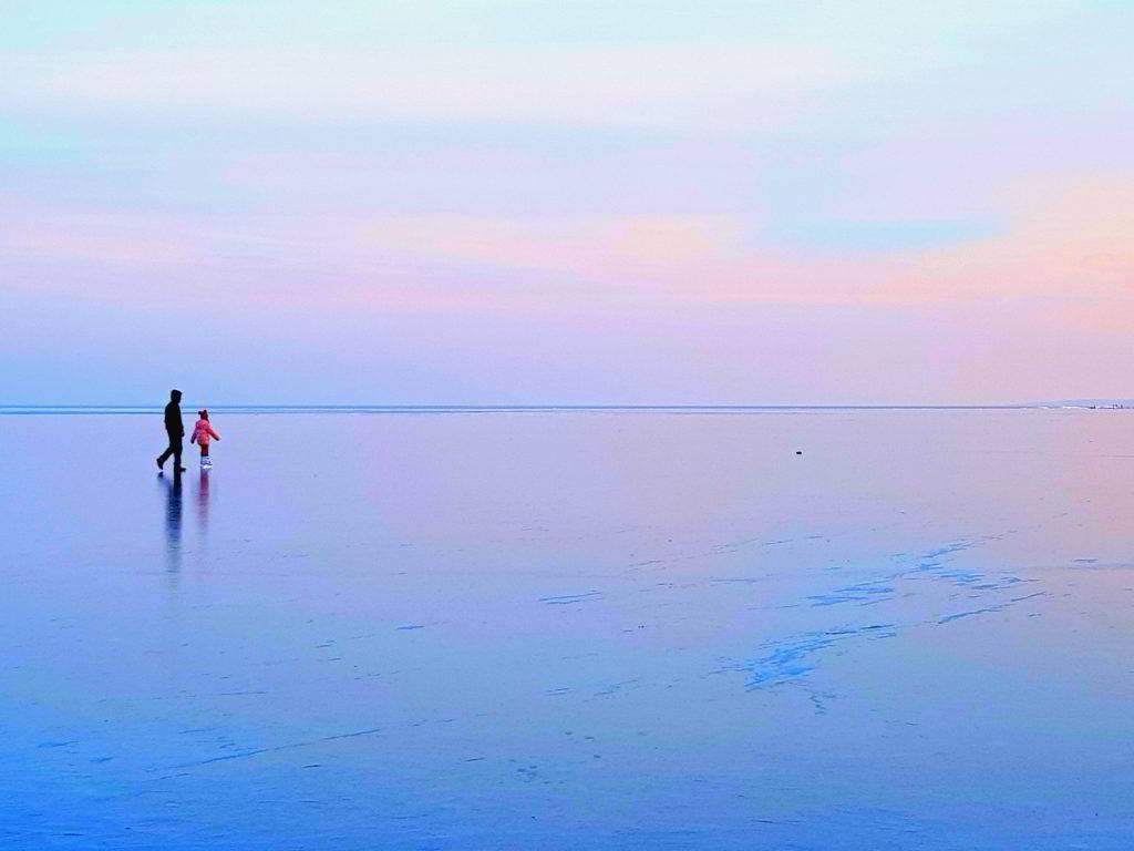 Patinoar Lacul Razim Sarichioi