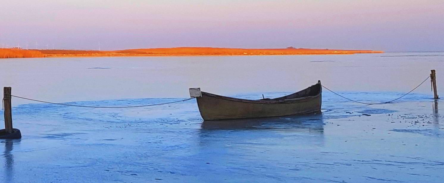 La Sarichioi este și iarna de poveste
