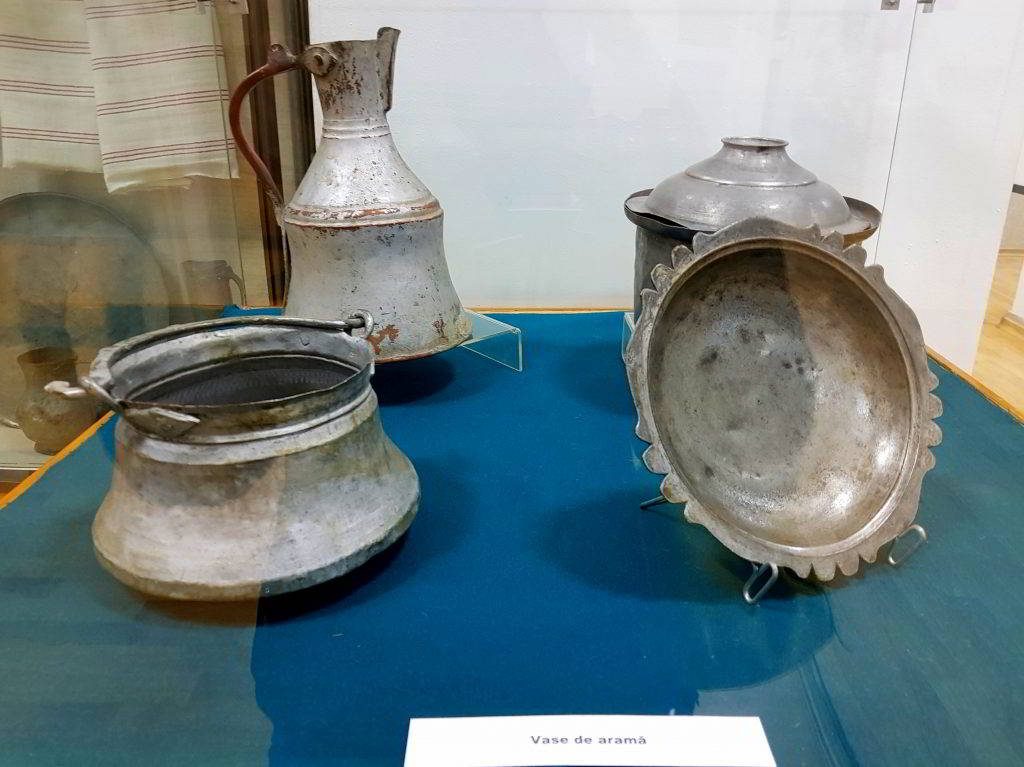 Obiecte arama din Dobrogea