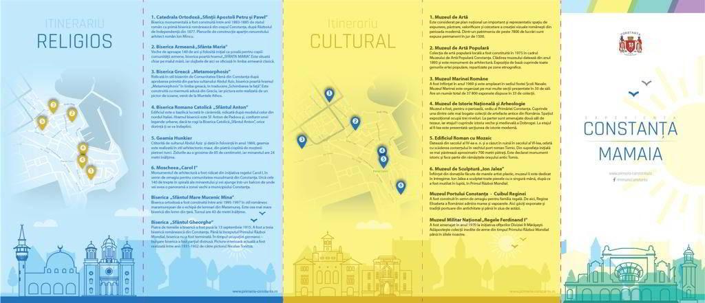 Obiective turistice Constanta Mamaia Targ Turism