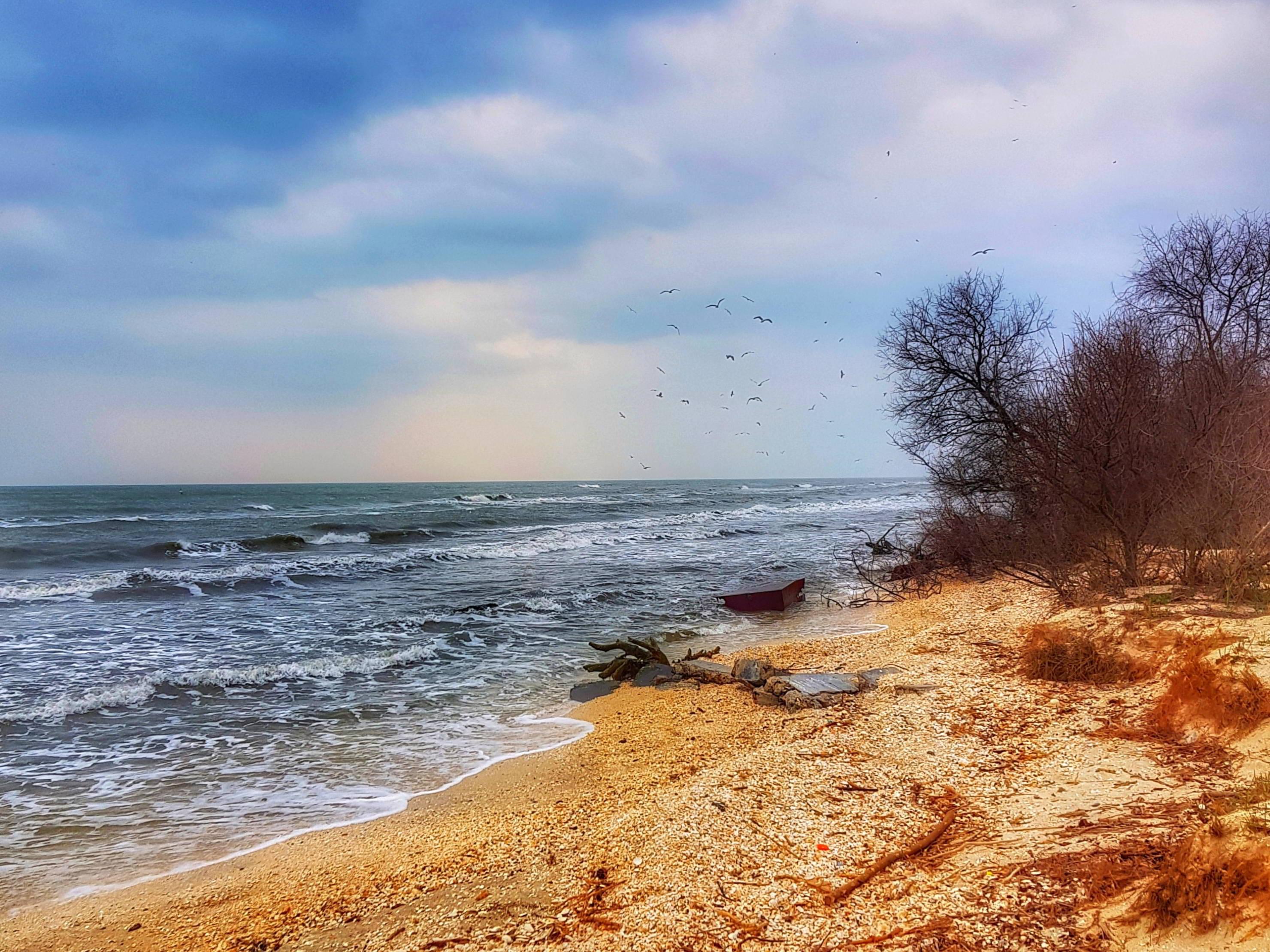 Plaja Perisor Holbina trei bibani