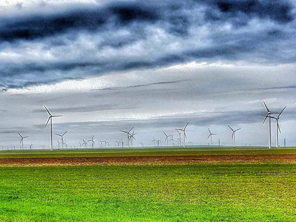 Wind turbines Dobrogea