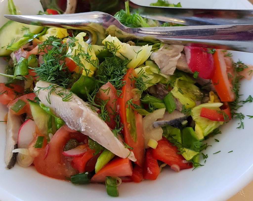 Salata scrumbie Delta Dunarii
