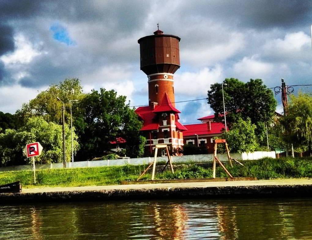 Castelul de apa din Sulina