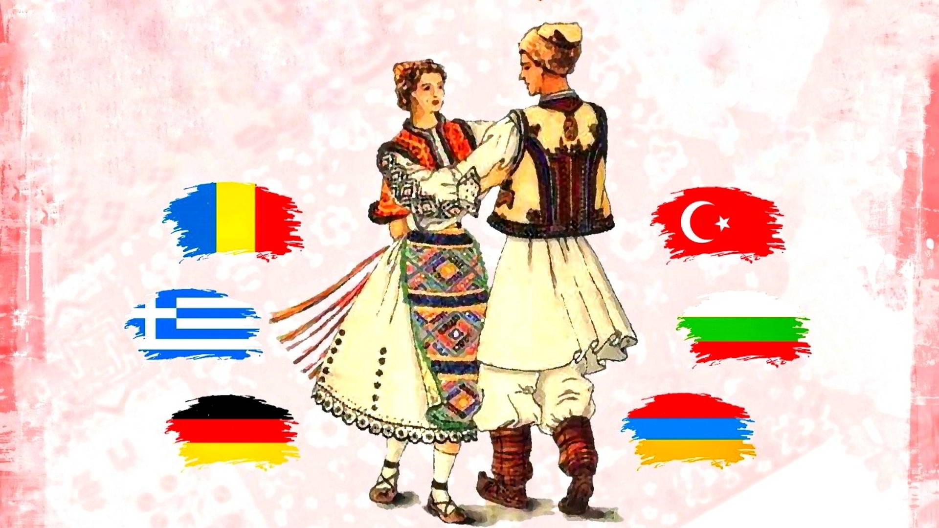 Festivalul de dansuri tradiționale ale etniilor din Dobrogea, un spectacol de excepție în orașul Ovidiu