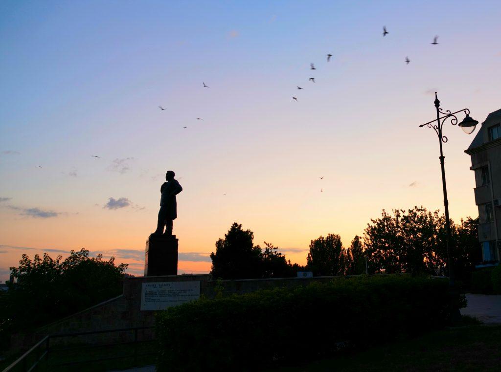 Statuie Anghel Saligny Constanta