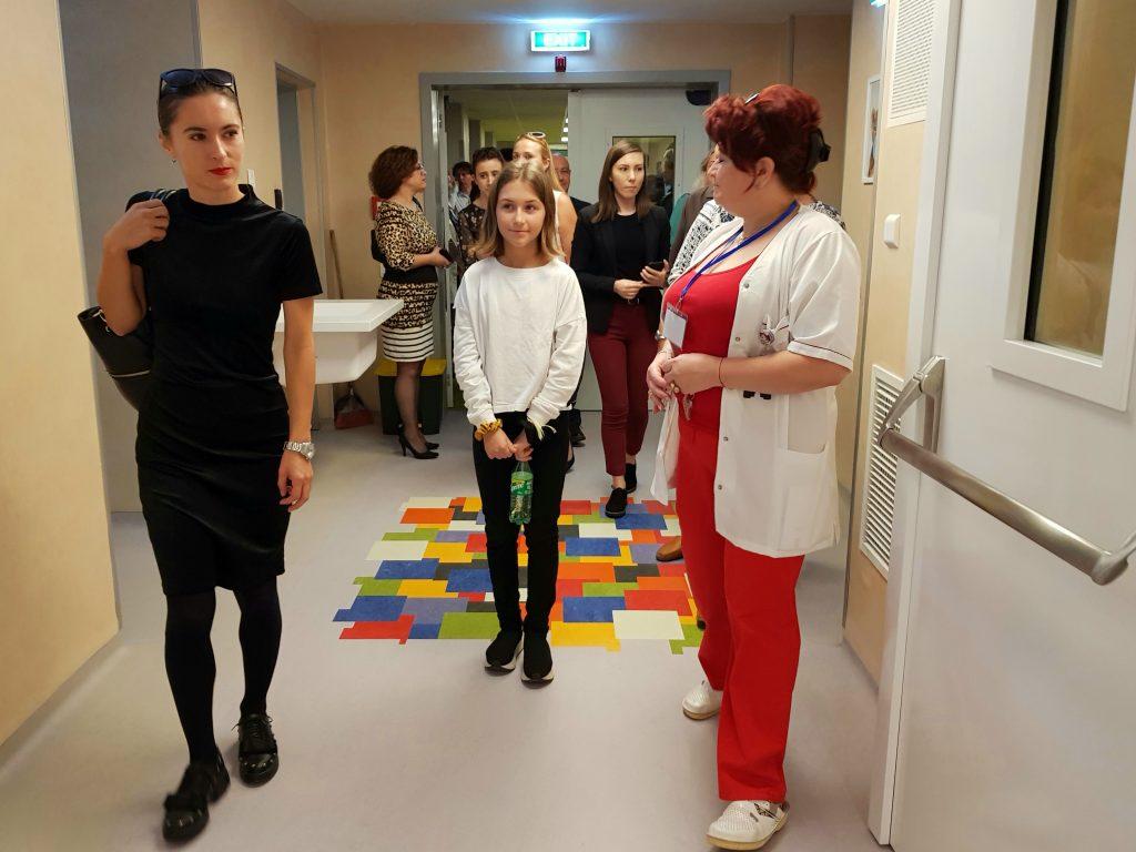 Sectie moderna terapie intensiva nou-nascuti Constanta