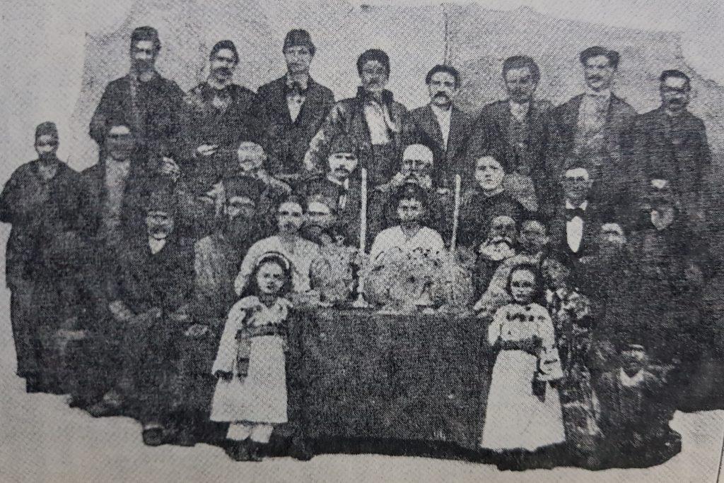 Serbare scolara 1872 scoala romana