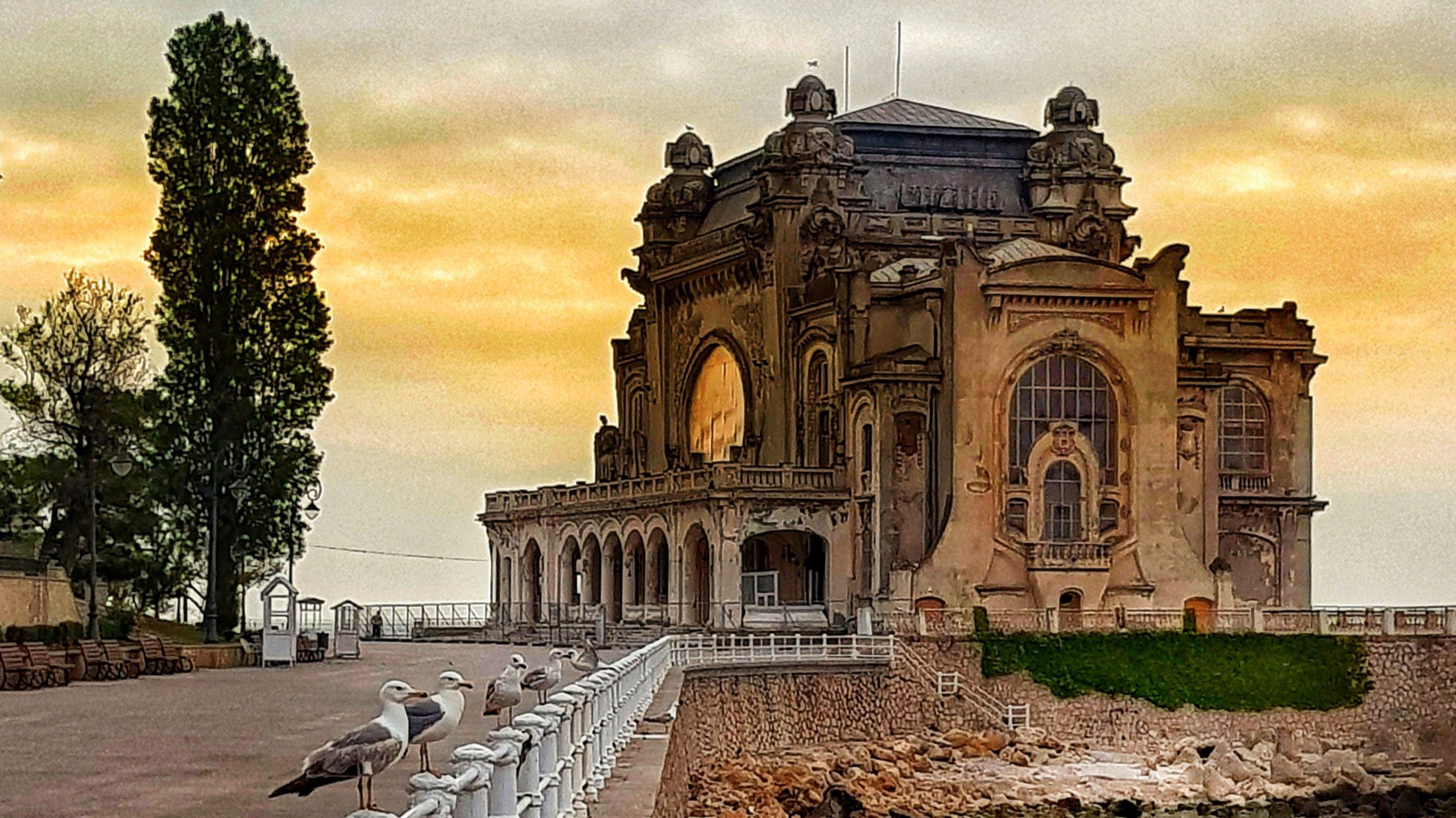 După restaurare, Cazinoul din Constanța va arăta ca în 1910