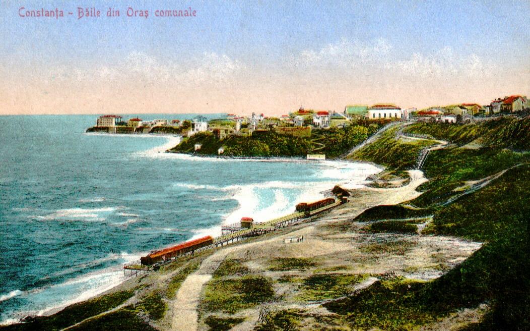 Plajele Constanței de odinioară au rămas în istoria orașului cu poveștile lor frumoase