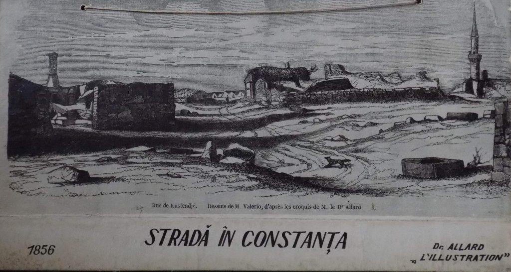 strada in Constanta veche 1856