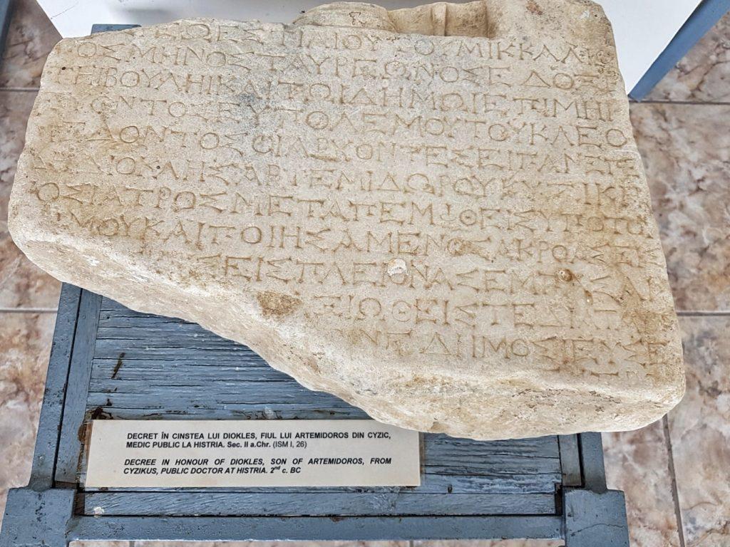 inscriptii-cetatea-histria