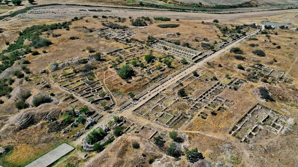 cetatea-tropaeum-traiani-vedre-drona-fotografie-aeriana-adamclisi