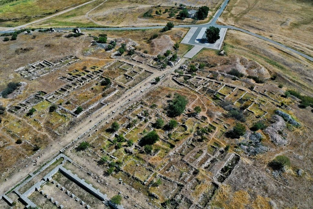 cetatea-tropaeum-traiani-adamclisi-vedere-aeriana-drona