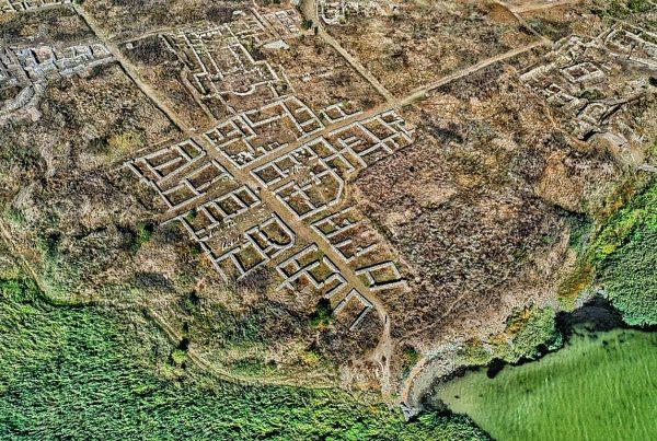cetatea-histria-vedere-drona-fotografie-aeriana