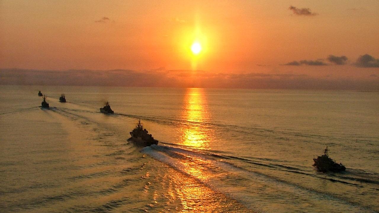 """Exercițiul multinațional """"Poseidon 21"""" se desfășoară în Marea Neagră"""