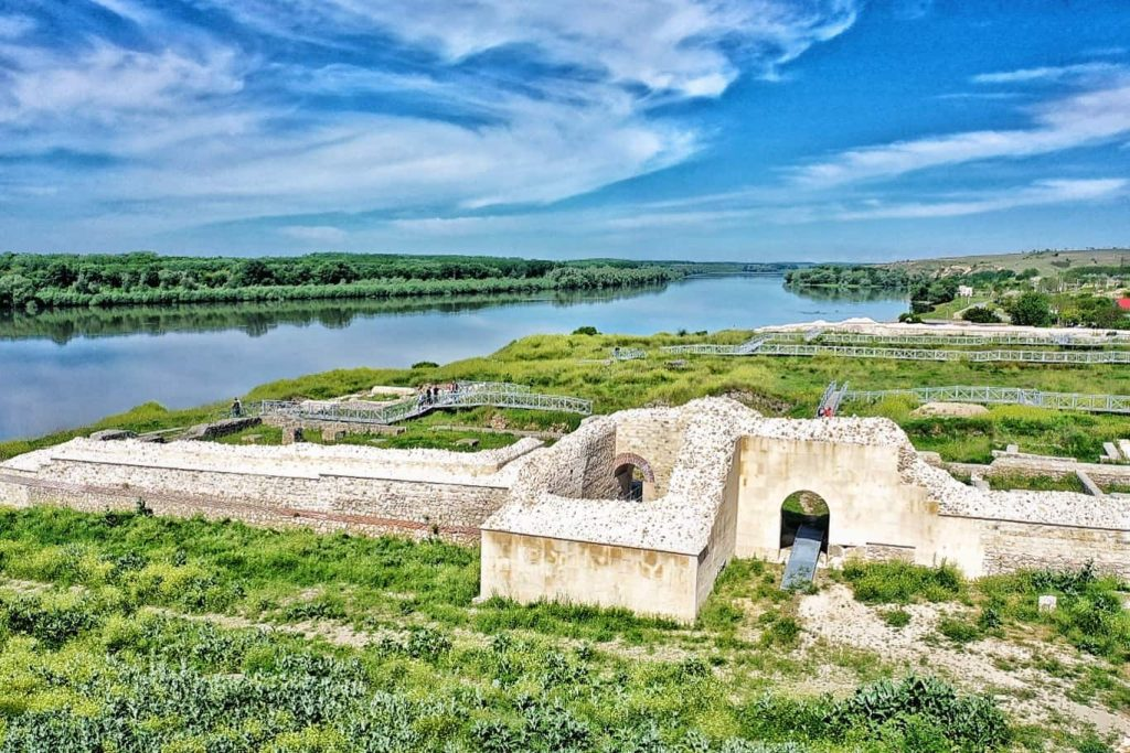 cetata-capidava-ridicata-in-perioada-imparatului-traian-secolul-II