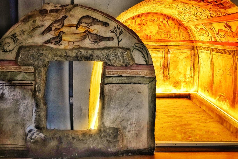 Mormântul pictat de la Tomis, cel mai valoros complex funerar descoperit în Dobrogea