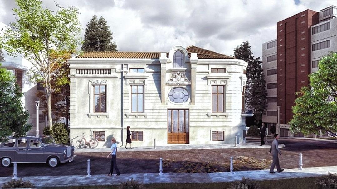 """""""Casa Stănescu"""", un imobil de patrimoniu pe care liceenii constănțeni îl vor reabilitat"""