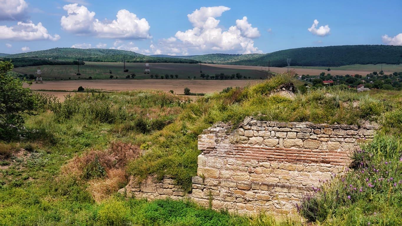 Cetatea Ibida din Slava Rusă, cea mai mare fortificație din Dobrogea, după Tomis