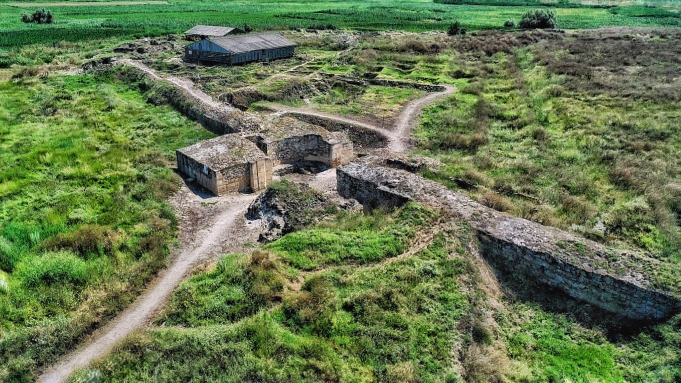 Cetatea Halmyris, ultimul castru militar roman la vărsarea Dunării în Marea Neagră